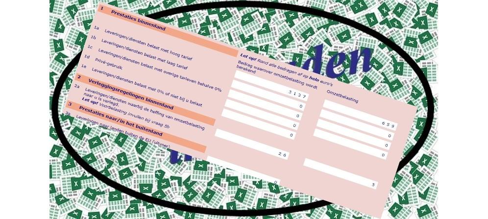 Boekhouden in Excel en BTW